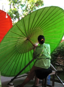 Thai Umbrella Maker