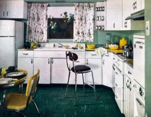 House Beautiful Kitchen's of the 1950's