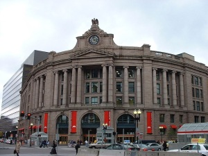 Boston's Historic South Station circa 2004