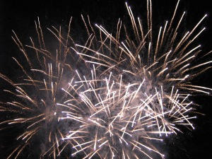 Fireworks Display, Italy 2008